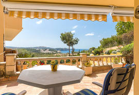 Meerblick Terrasse/sea views terrace/vistas al mar terrza